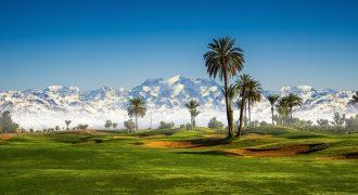 Terrain Villa vue spectaculaire sur Atlas