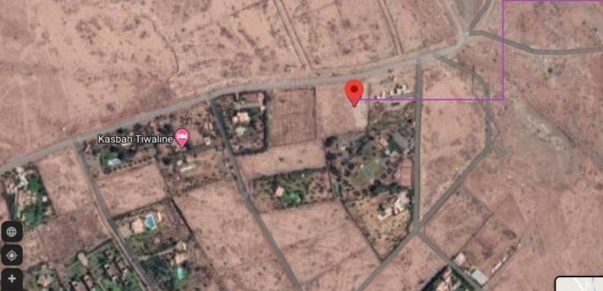 Terrain pour villa sur Bab Atlas
